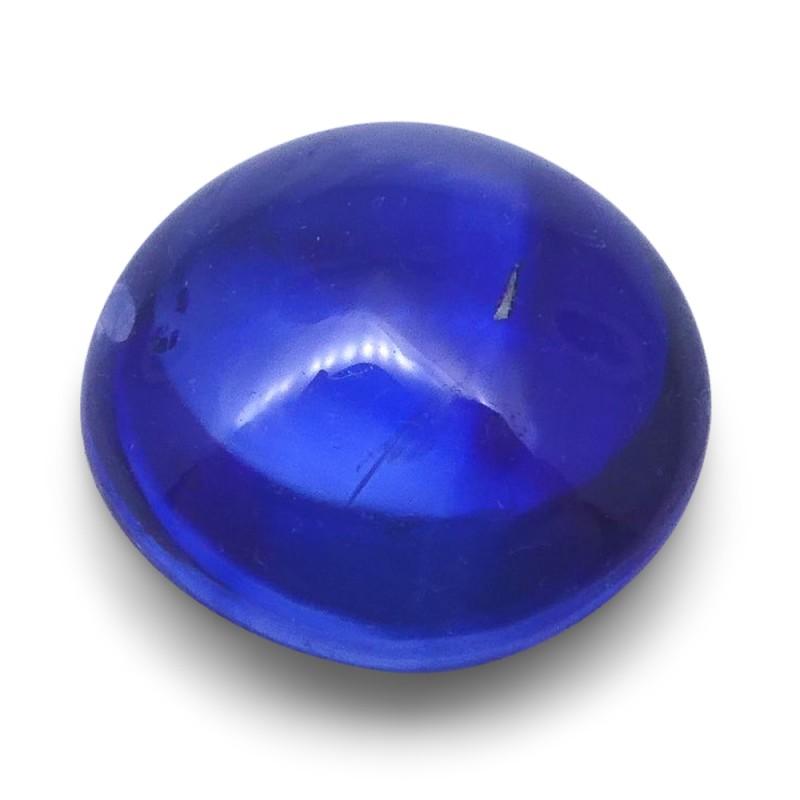1.14 ct Round Sugarloaf Cabochon Sapphire