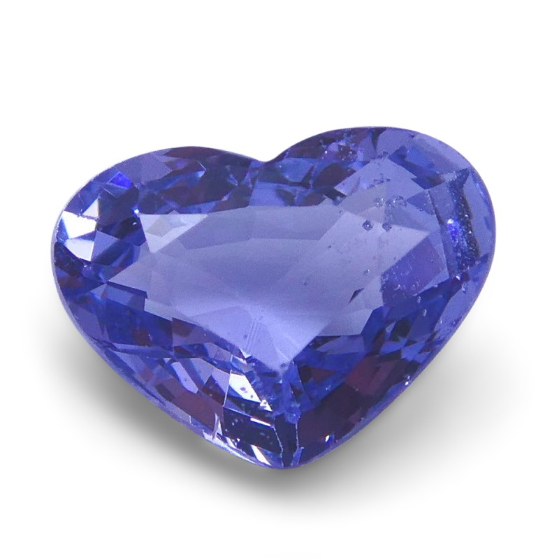 1.40 ct Heart Violet Spinel- $1 NR Auction
