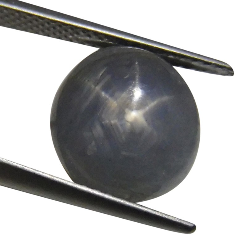 6.86 ct Oval Star Sapphire