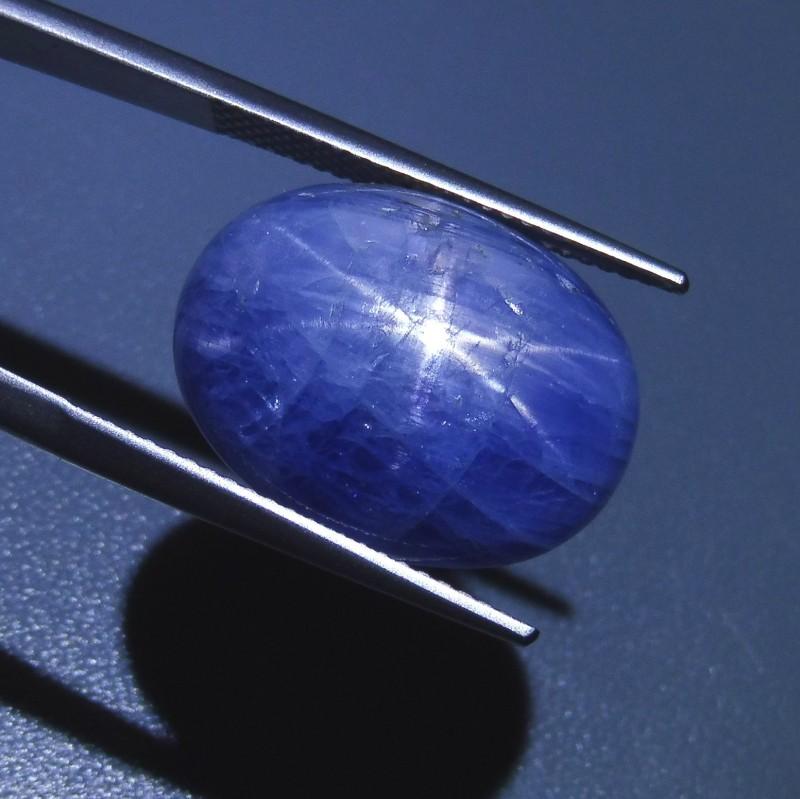25 ct Oval Star Sapphire