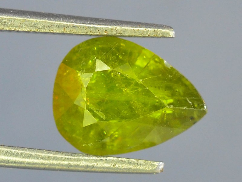1.85 ct Natural Green Sphene From pakistan