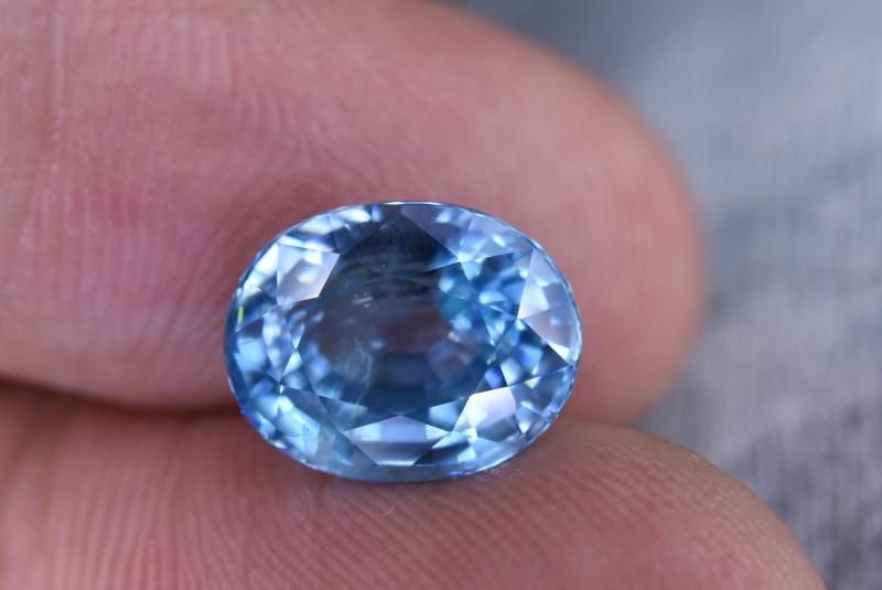 7.25 Crt Natural Combodia  Zircon AAA Faceted Gemstone