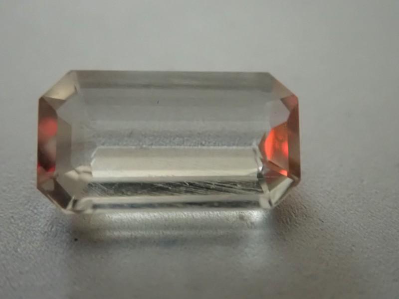1.1 ctTop Quality Fluorescent Transparent Faceted Richterite Winchite