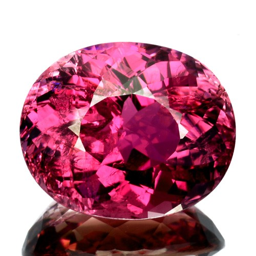 ~BEAUTIFUL~ 11.65 Cts Natural Sweet pink Tourmaline Oval Cut Mozambique
