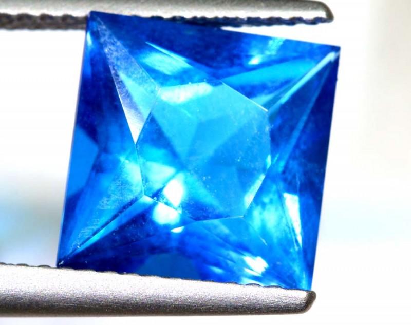 3.87- CTS  BLUE QUARTZ FACETED  CG-2546