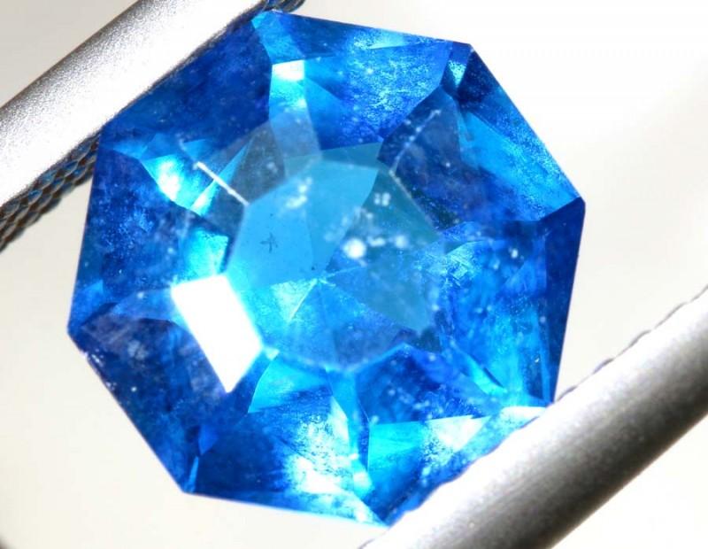 2.38- CTS  BLUE QUARTZ FACETED  CG-2549