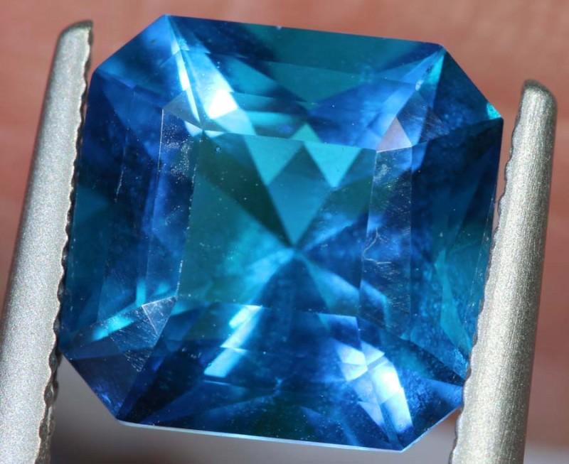3.80- CTS  BLUE QUARTZ FACETED  CG-2569