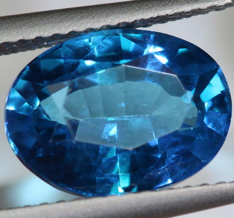 4.70-CTS  SWISS BLUE TOPAZ FACETED GEMSTONES  CG-2578