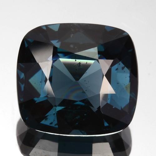 2.50 Cts Natural Cobalt Blue Spinel Cushion Cut Sri Lanka