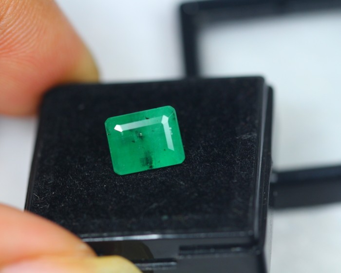 2.79Ct Natural Zambia Emerald Octagon Cut Lot LZB269