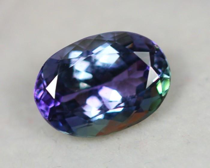 Black Friday 2.50Ct Greenish Violet Blue Tanzanite Oval Cut Lot LZB273