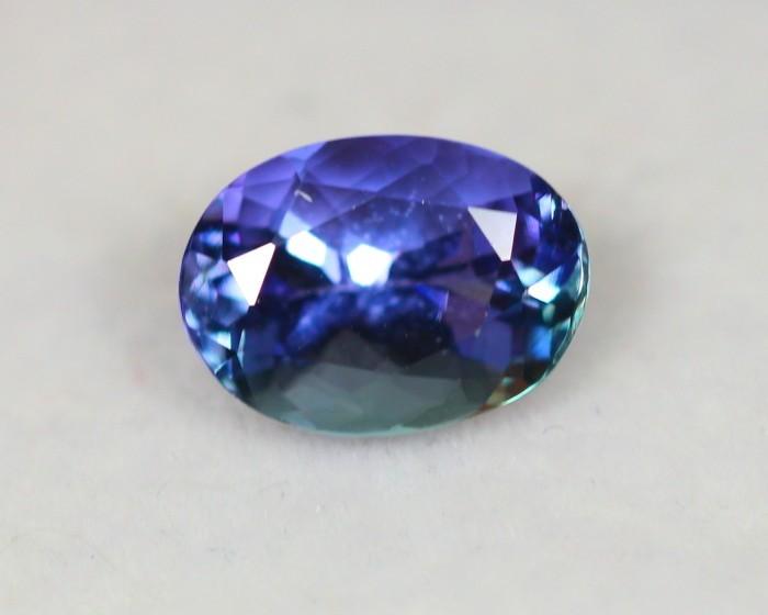 2.62Ct Greenish Violet Blue Tanzanite Oval Cut Lot LZB274