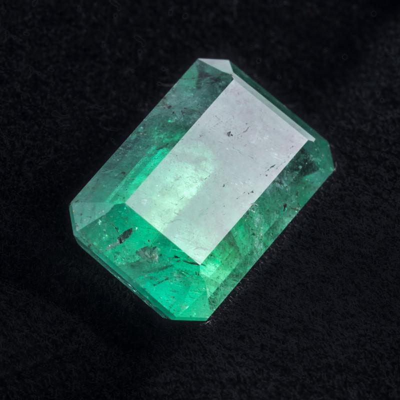 8.80 CTS -Emerald - 16 x 10 x 7.5 mm - Oiled - Brazil