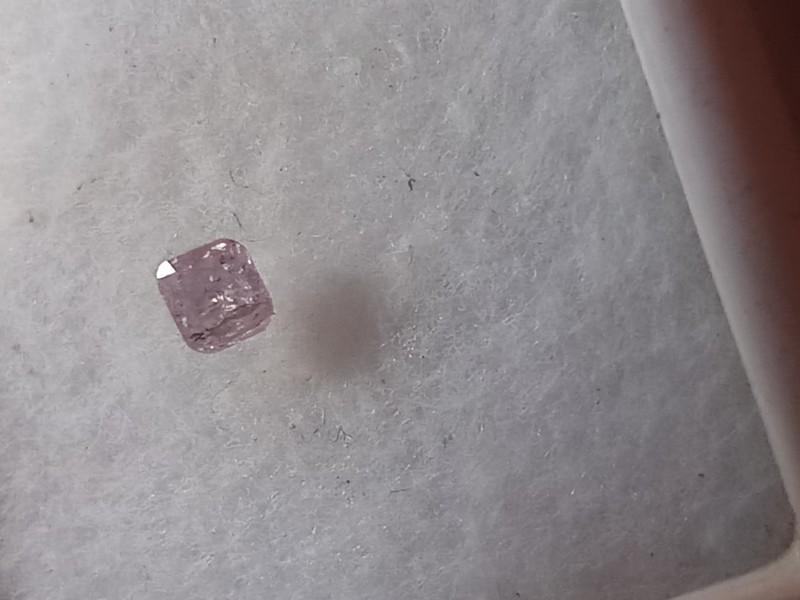 NATURAL FANCYPINKPURPLE DIAMOND,0.30CTW,1PCS