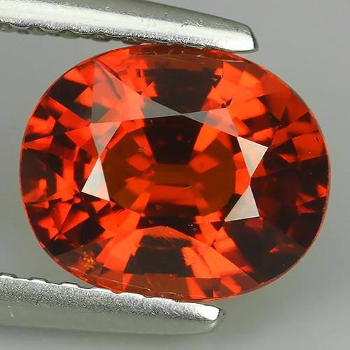 CERTIFIED 2.42 Cts~Natural Shocking Fanta Orange Spessartite Garnet Namibia