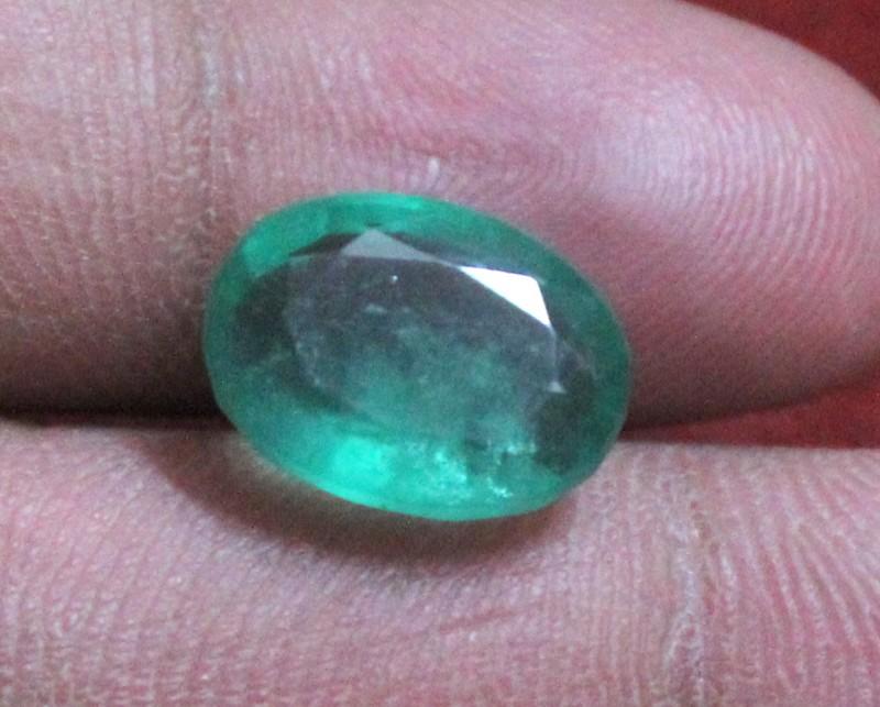 7.30 Crt Natural Zambian Emerald