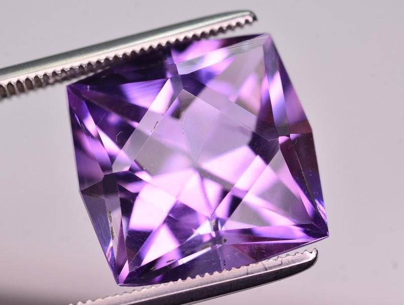 9.60  Ct Sparkling Color Natural Amethyst ~ Uruguay AM1 SKU-40