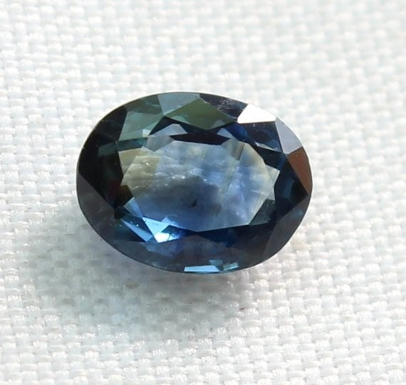 0.95 Crt Natural Blue Sapphire Loose Gemstone 0008