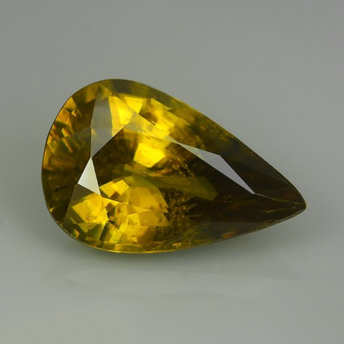 8.45 CTS SPARKLING NATURAL ULTRA RARE  YELLOW COLOR  SPHENE