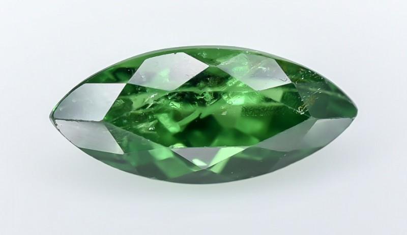 1.32 Crt GIL Certified Tsavorite Faceted Gemstone