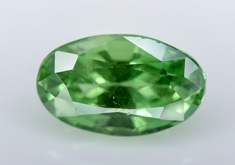 1.28 Crt GIL Certified Tsavorite Faceted Gemstone