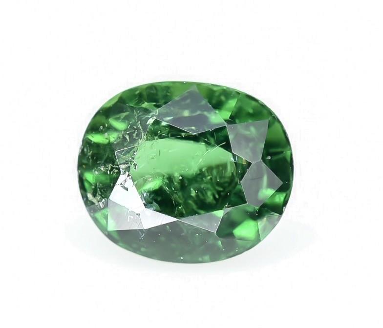 0.95 Crt GIL Certified Tsavorite Faceted Gemstone