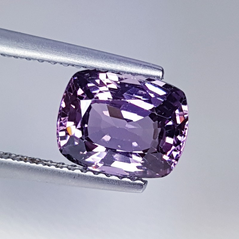 2.57cts Top Quality Gem Amazing Cushion Cut Natural Pink Spinel