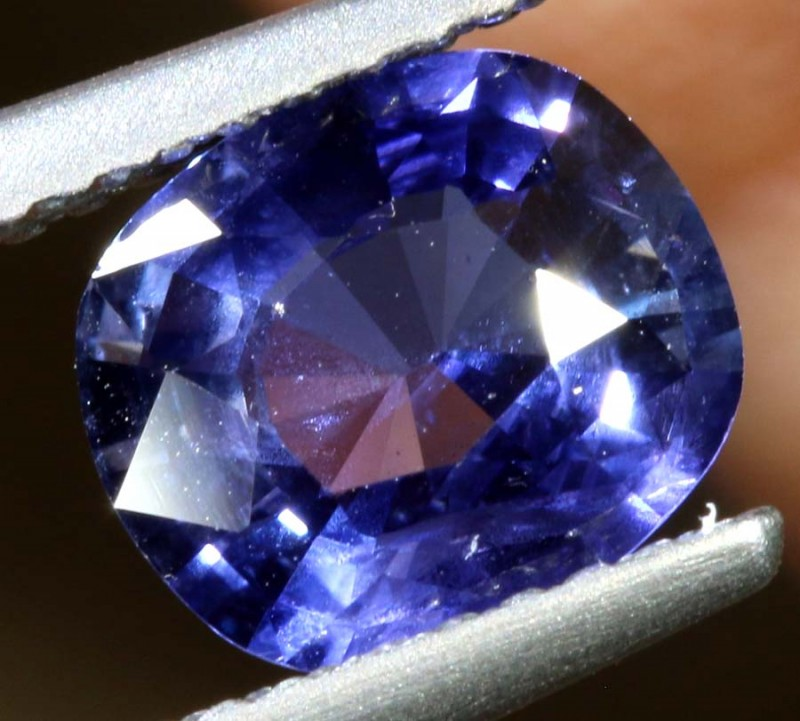 1.63CTS- CERTIFIED SRI LANKA SAPPHIRE FACETED GEMSTONE  TBM-1519
