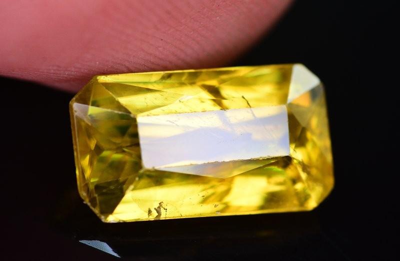 Top Dispersion 5.10 Ct Natural Titanite Sphene