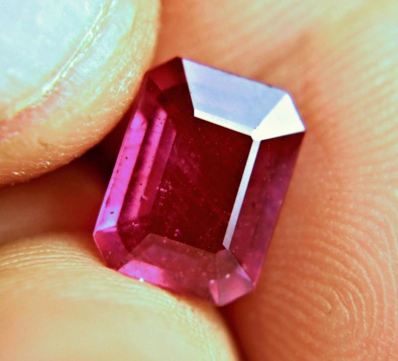 3.94 Carat Fiery Elegant Ruby - Superb