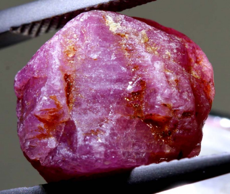 17.40-CTS BURMA RUBY ROUGH  RG-3065