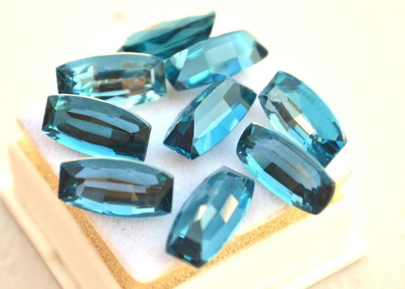 47.50 Carat Topaz Parcel -- Fantastic Fancy Cut Stones