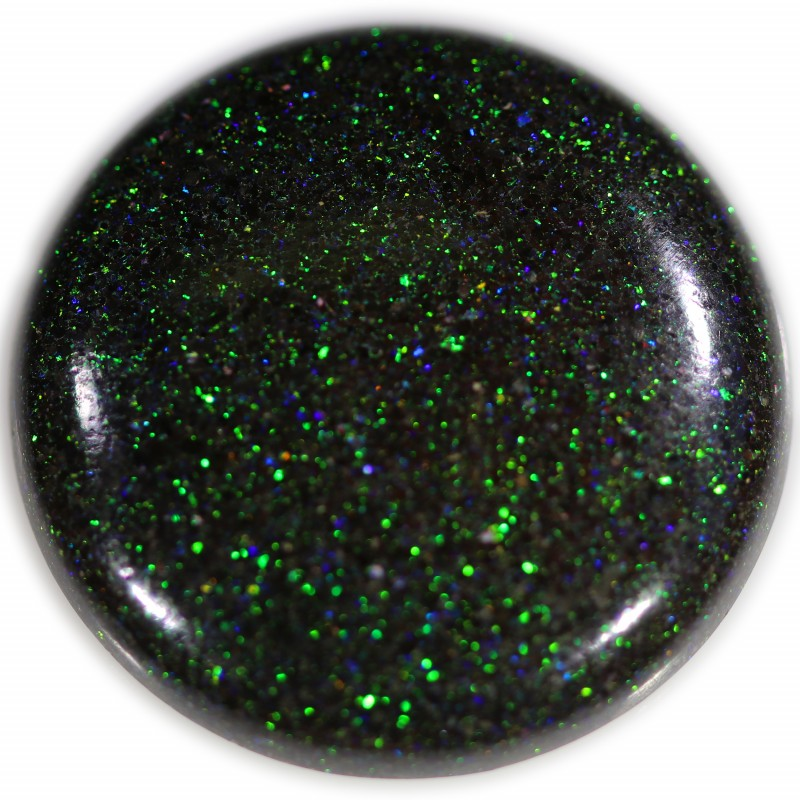 20 CTS  24 mm GREEN FAIRY OPAL-POLISHED-CALIBRATED.[FOREL4  ]