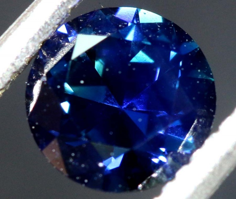 0.80CTS- CERTIFIED SAPPHIRE FACETED GEMSTONE  TBM-1559
