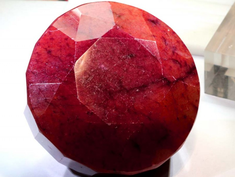 2329-CTS  RUBY  FACETED POLISHED TBM-1567