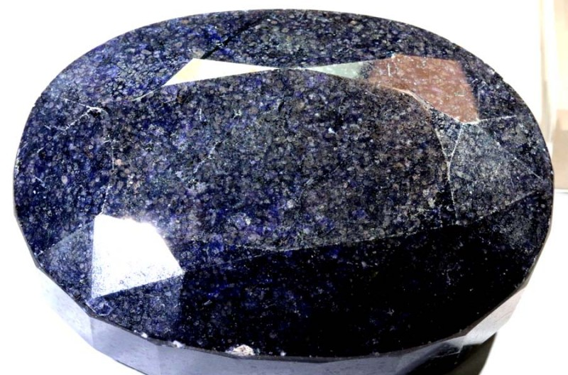 2315.5CTS-  SAPPHIRE FACETED POLISED  TBM-1569
