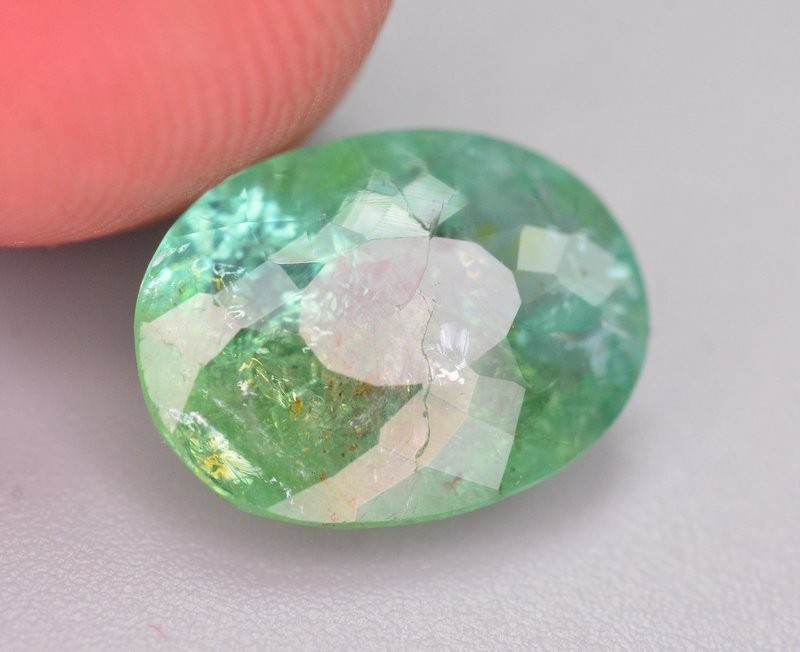 GIL Cert 3.46 Ct Top Color Natural Paraiba Tourmaline