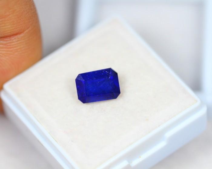 2.90Ct Blue Sapphire Composite Octagon Cut Lot LZB450