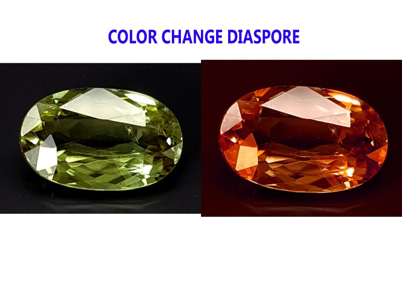 2.55CT DIASPORE COLOR CHANGE ZULTANITE IGCDS02