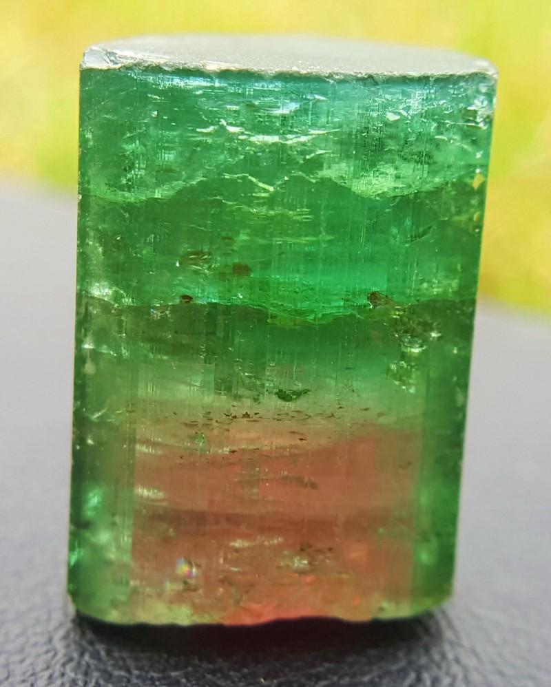 34 Carats Watermelon Tourmaline Crystal
