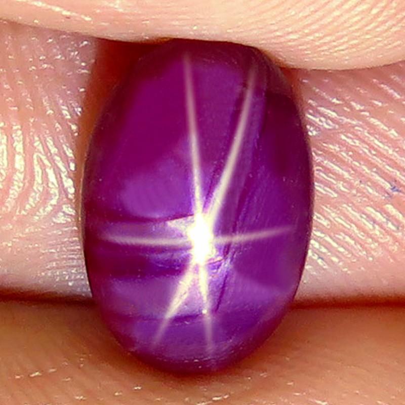 3.91 Carat Fiery Star Ruby - Gorgeous
