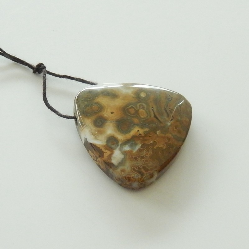 81cts sale natural ocean jasper pendant beads for designer (A174)