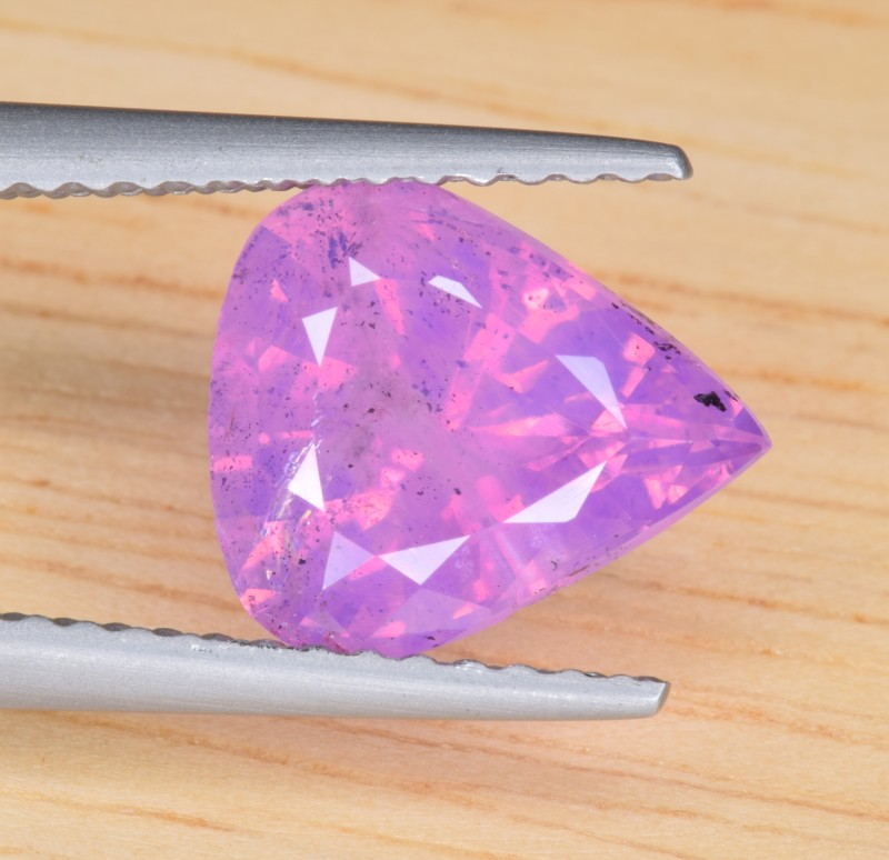 Natural Padparadscha Sapphire 2.60 Cts from Badakhshan, Afghanistan