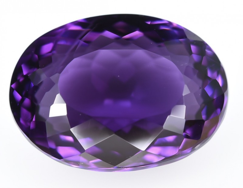 10.80 Crt Amethyst Top Quality From Uruguay Faceted Gemstone
