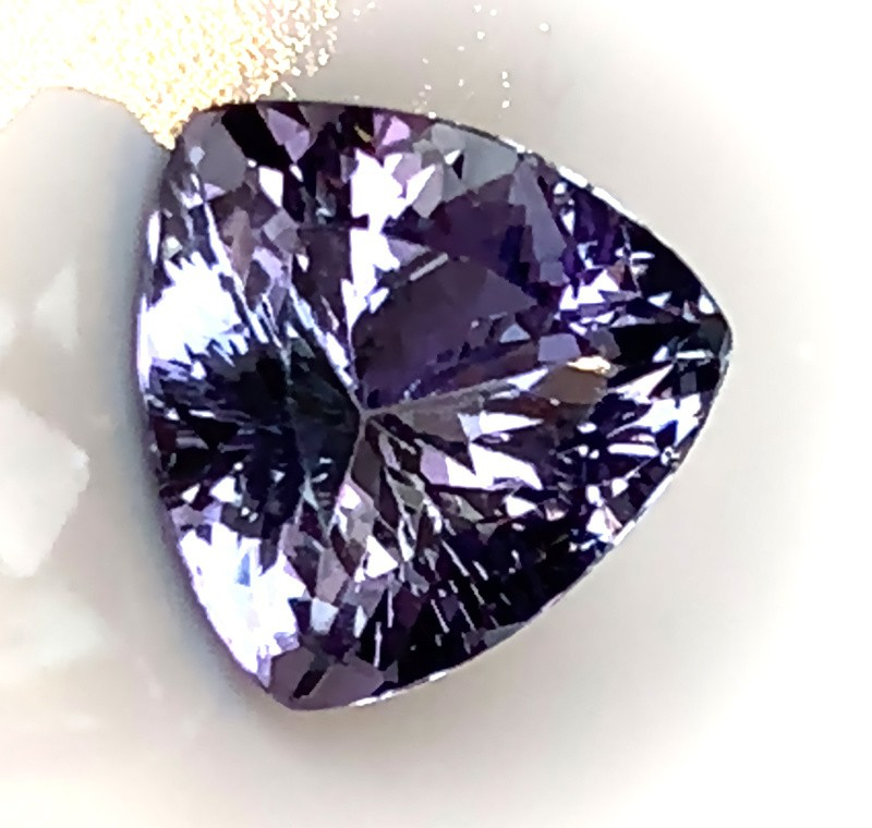 2.11ct Certified Tanzanite - VVS Large Beautiful Stone