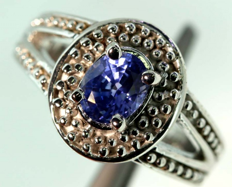 38-CTS SAPPHIRE RING BLUE   SG-2791
