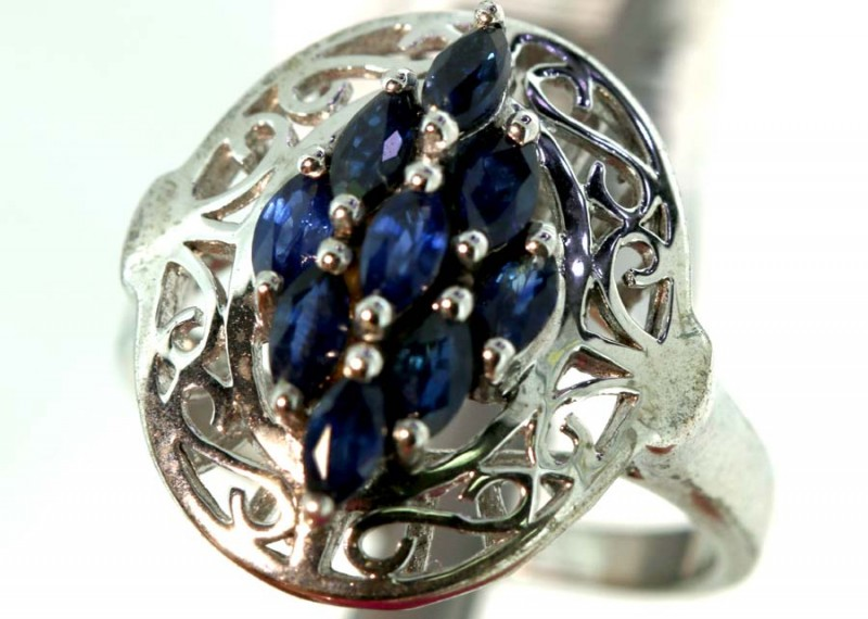 22.60-CTS  BLUE SAPPHIRE RING    SG-2794