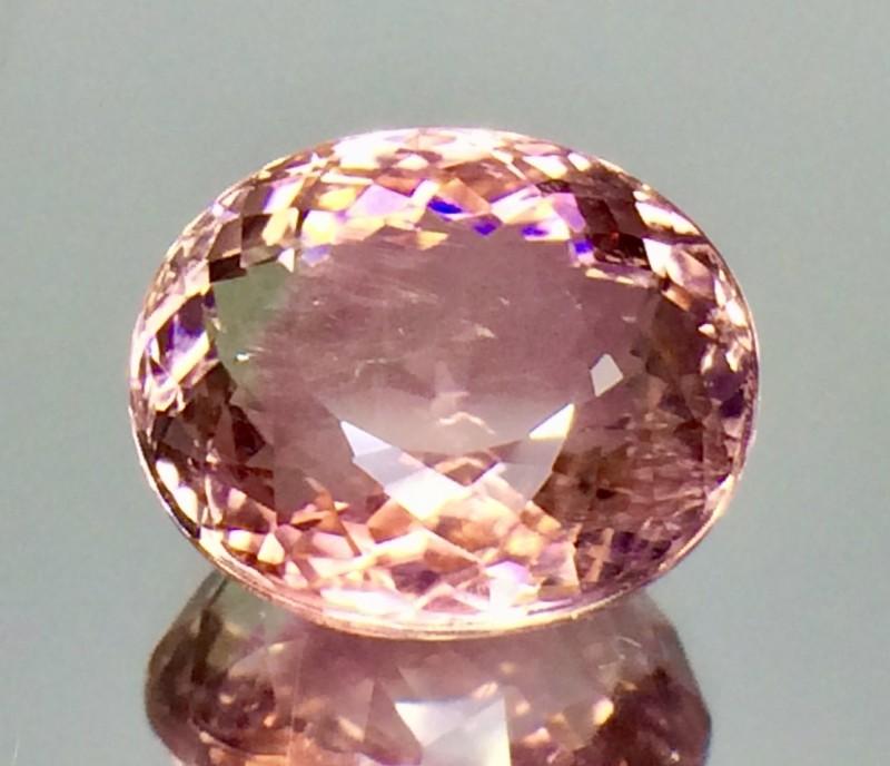 6.78 Crt Natural Tourmaline Beautifulest Pinkish Faceted Gemstone(Tm 01)