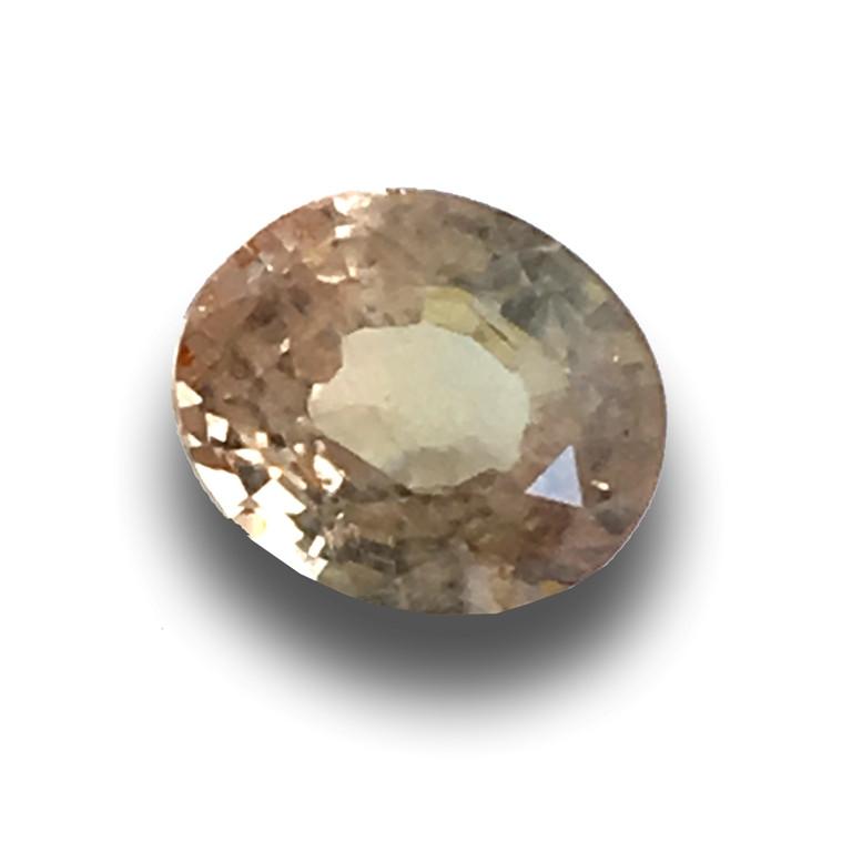 Natural Unheated Pinkish Yellow Sapphire Loose Gemstone New