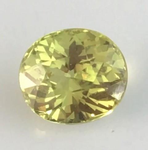 Brilliant Sparkles 1.25ct  Yellowish Green Mali Garnet - TH152 G223